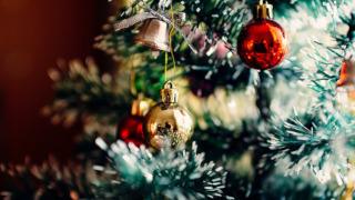 Alberi e corone per il Natale