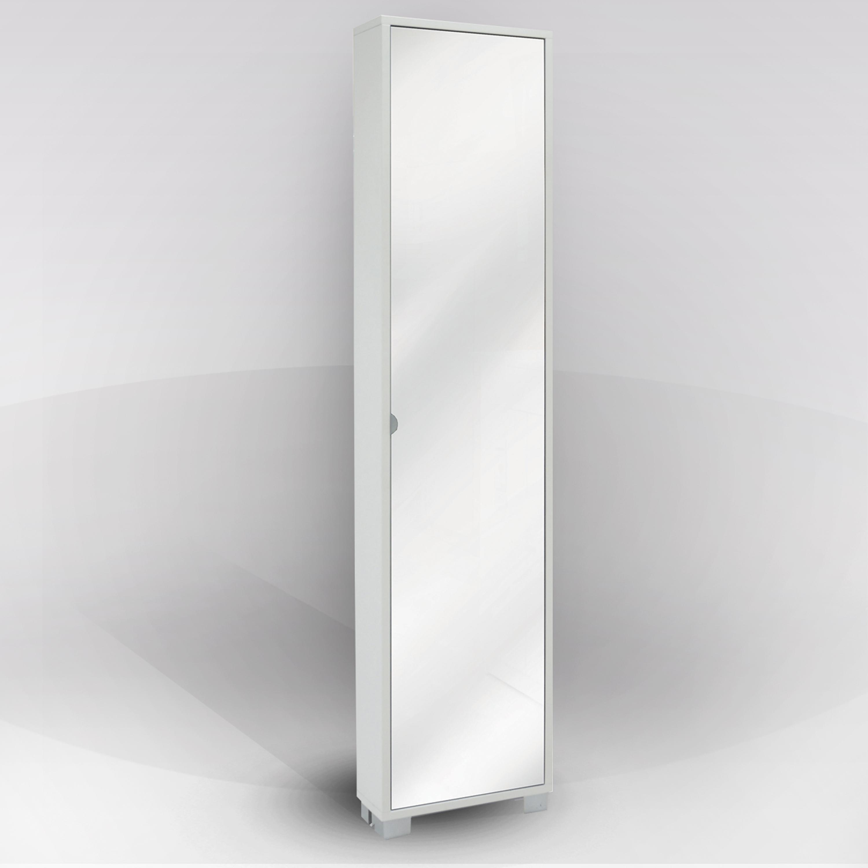 Mobile portascarpe bianca 1 anta specchio ebay - Scarpiera anta a specchio ...
