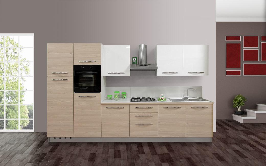 Cucina Completa di elettrodomestici modello Navarra - AR97