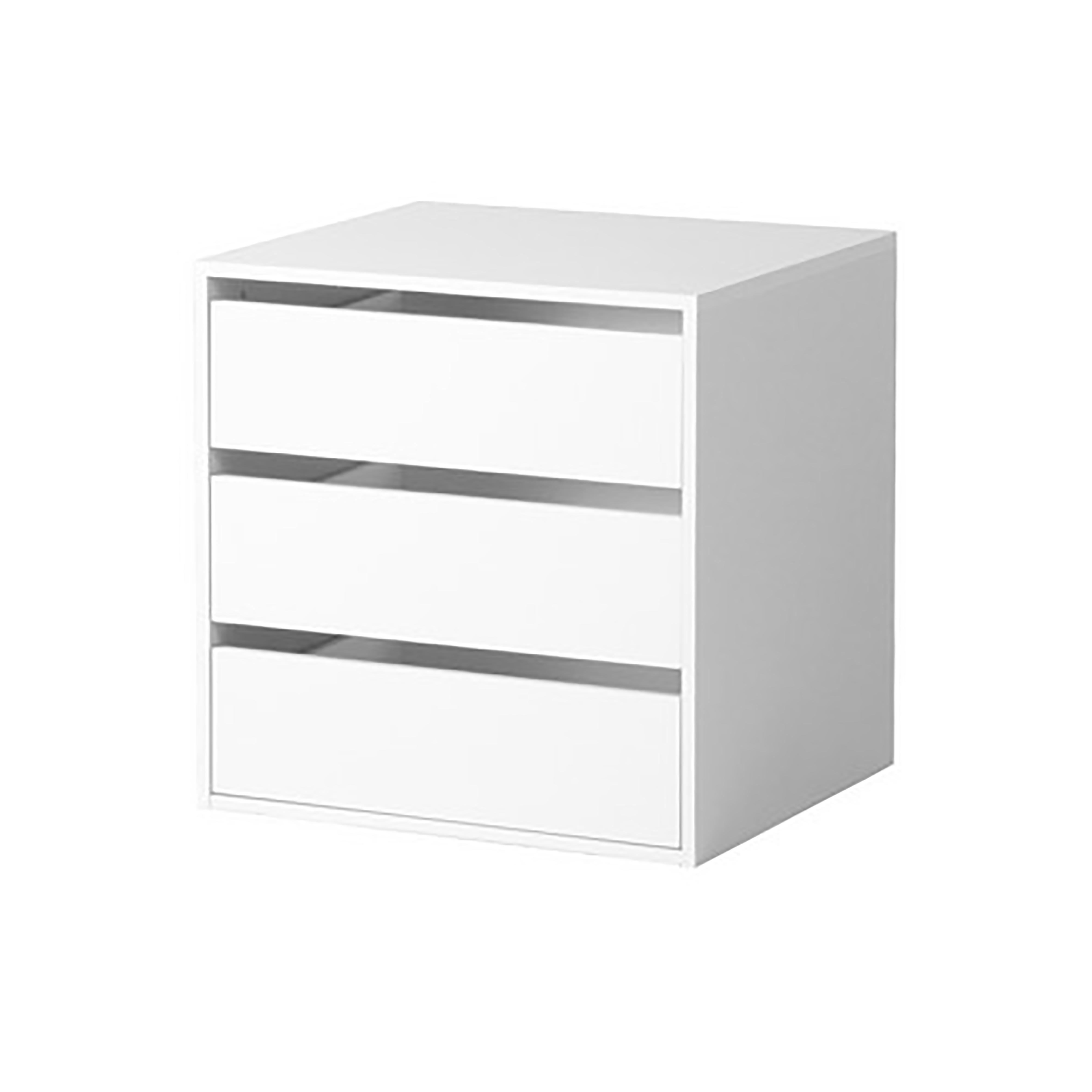 Cassettiera interna per armadio bianca ebay - Cassettiera interna per armadio ikea ...
