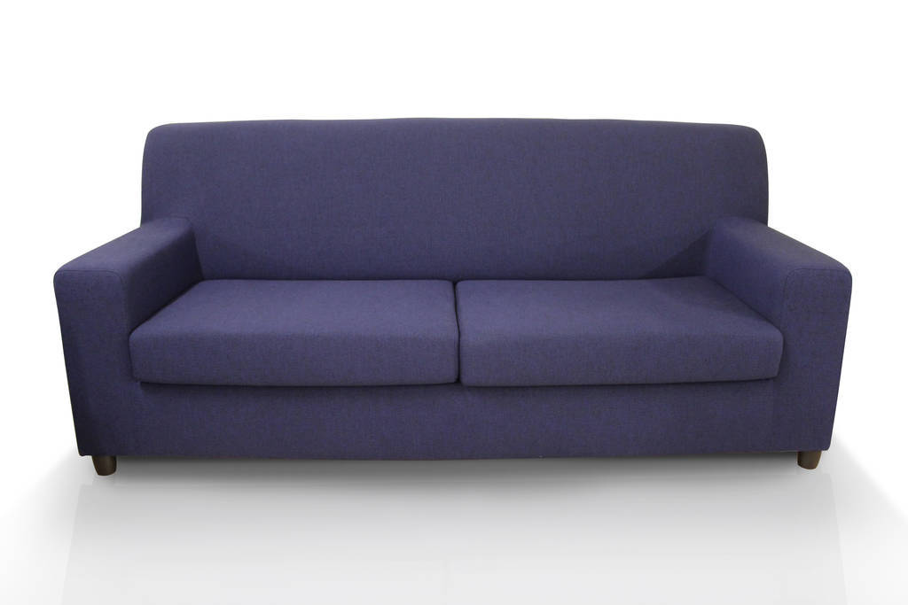 Divano 3 posti blu cm 190x80 e h 82 ebay for Divano 80 cm