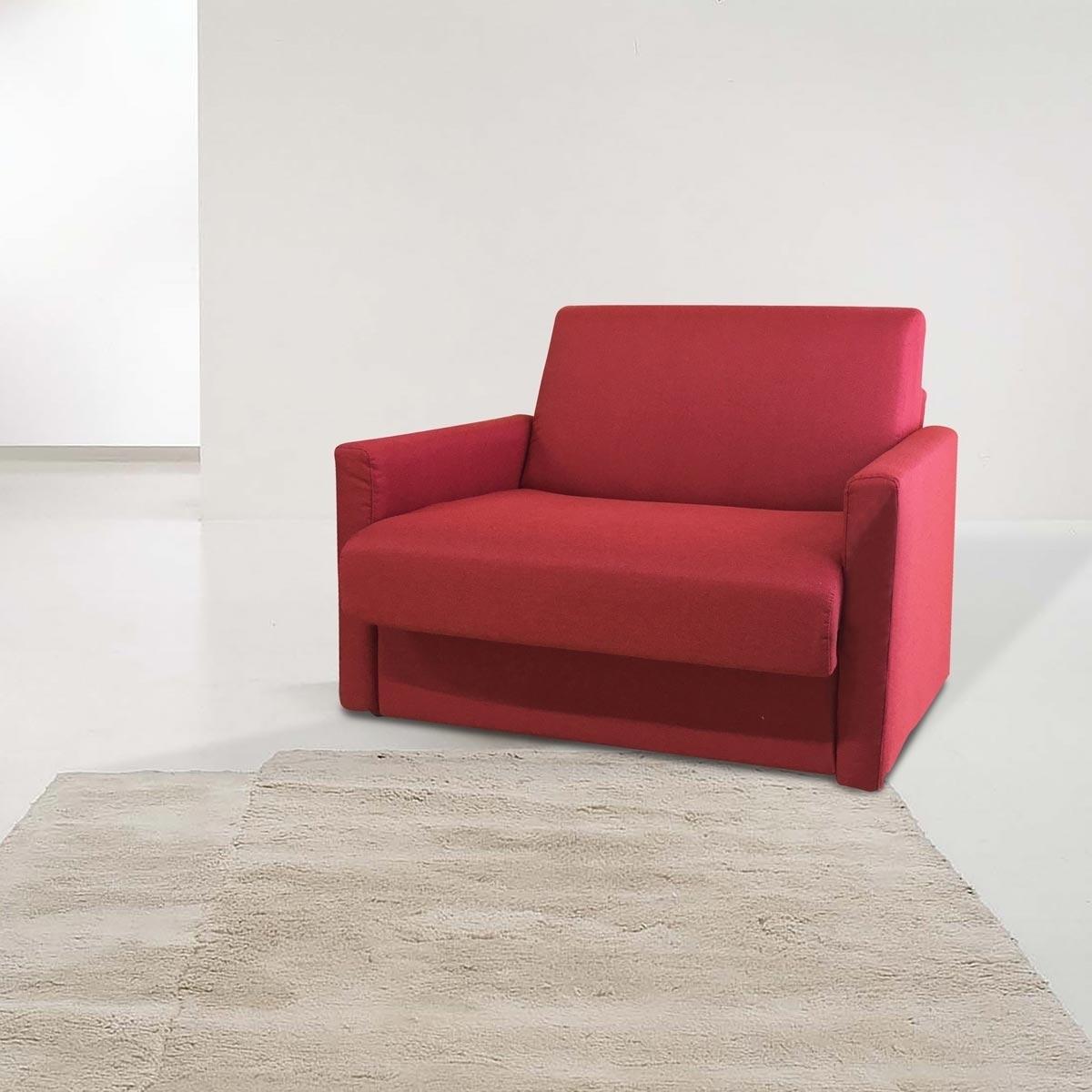 Poltrona letto in tessuto sfoderabile ebay for Poltrona letto ebay