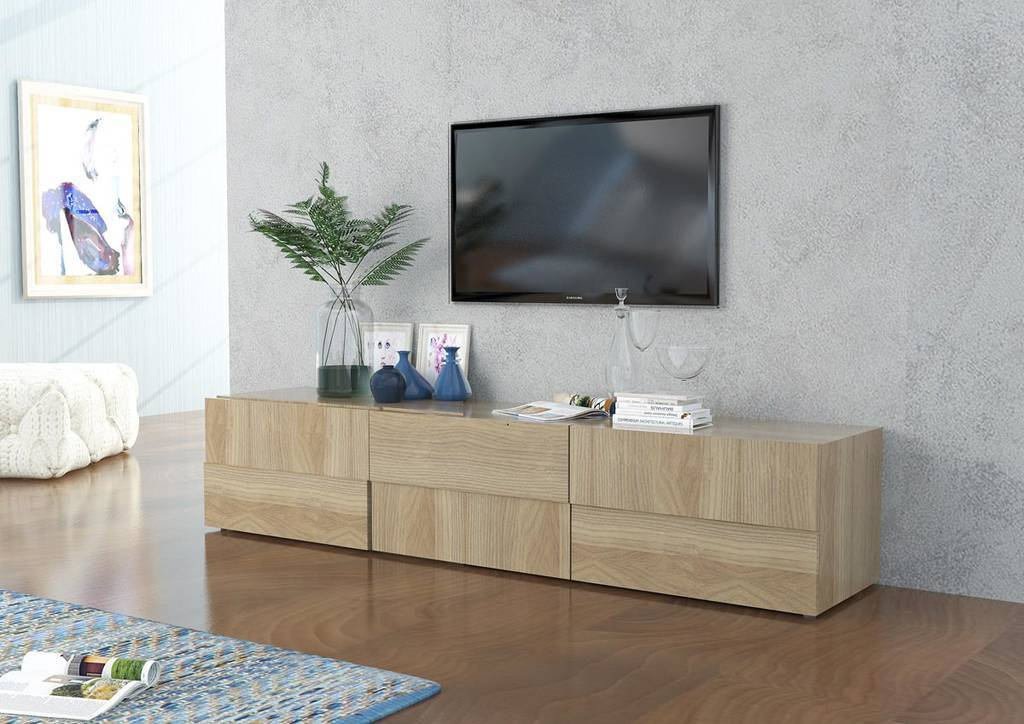 Credenza Con Tv : Offerta tavolo allungabile sedie in legno credenza